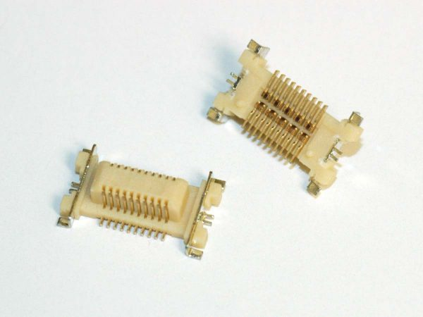 Micro Pitch Interconnect Plug - MPAS01