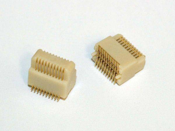 Micro Pitch Interconnect Plug - MPAS6
