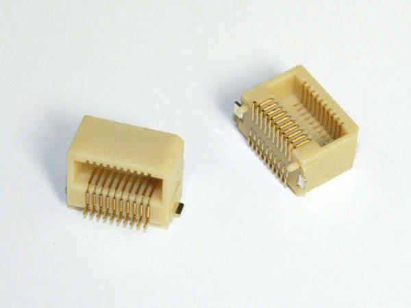 Micro Pitch Interconnect Socket - MPBR2