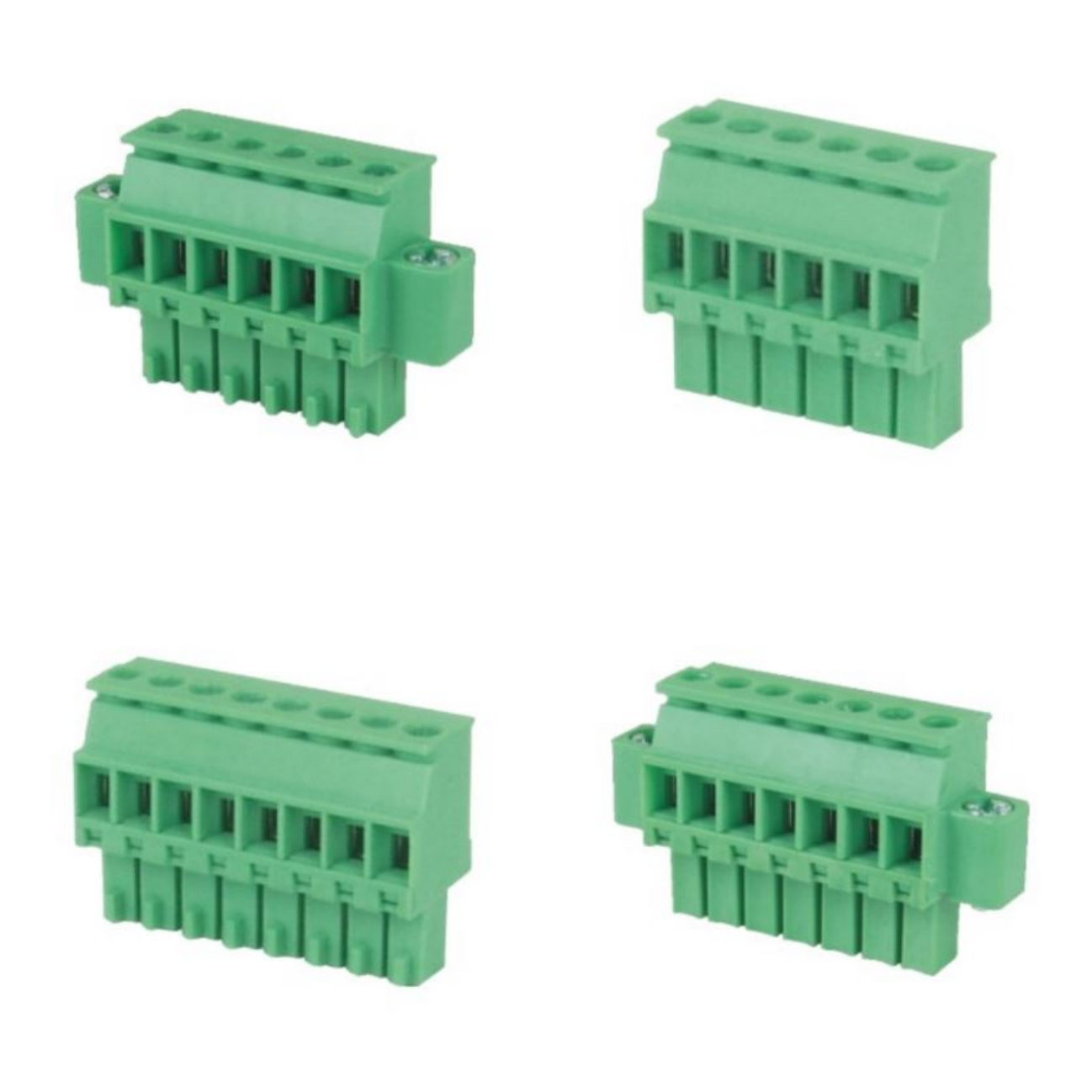 Pluggable Terminal Block Side Entry Screw & Clamp Type - RPGH-3.5