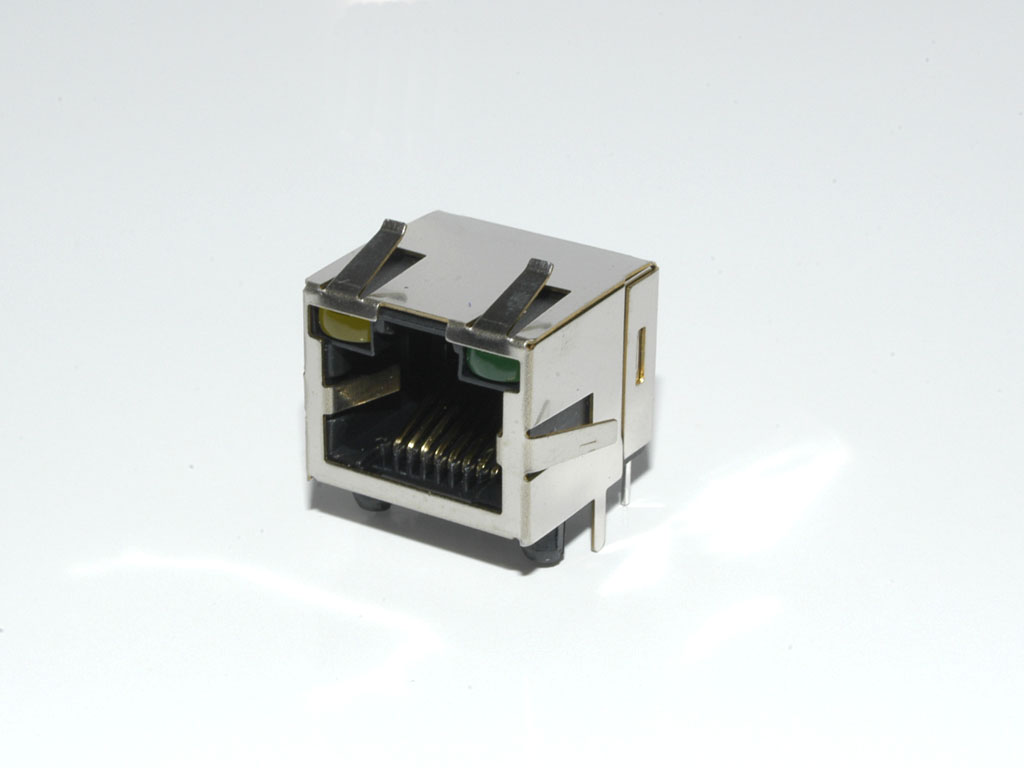 RJ45 with LED's - AMJ-208
