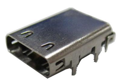 USB C Type Receptacle w/o SMT Solder - BPA-Q