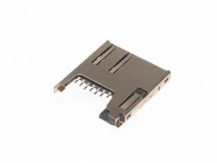 MicroSD Push-Push w/Spring Lock - CTSD
