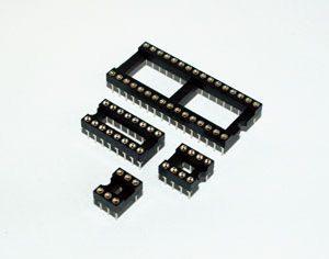 DIP Dual in-line IC sockets - MSIC-SP