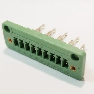 Panel Mount Terminal Block Pluggable Header with Flange - RPEA-3.81