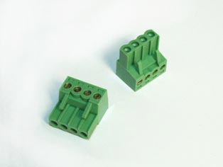 Pluggable Terminal Block Screw & Clamp Type - RPEW-3.81