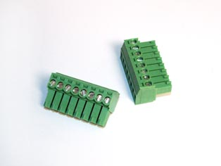 Pluggable Terminal Block Screw & Clamp Type - RPGQ-3.81