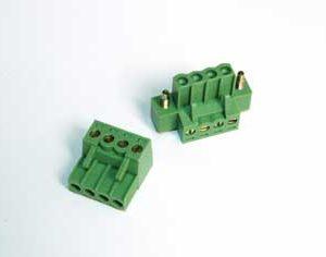 Pluggable Terminal Block Screw & Clamp Type - RPGQ-7.62