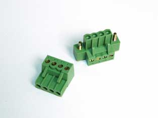 Pluggable Terminal Block Screw & Clamp Type - RPGQ-7.62