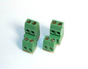 Dual Level  Right and Left Screw Terminal Blocks - TBBJ-3.81