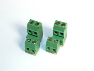 Dual Level  Right and Left Screw Terminal Blocks - TBBJ-3.81