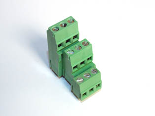 Triple Deck PCB Screw Terminal Blocks - TBBM-5.08